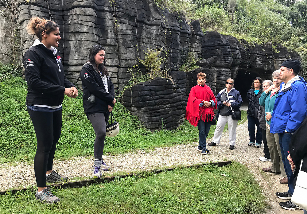 The guides happened to be Canadian and very knowledgeable about the geology of the area.