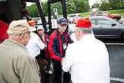 World War II and Korean War Veterans travel to Washington DC with Beloit organization, VetsRoll, on May 17, 2011. We drove from Pennsylvania to Hagerstown, Maryland on the second day..