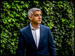 April 4, 2017 - London, London, United Kingdom - Image ©Licensed to i-Images Picture Agency. 04/04/2017. London, United Kingdom. Sadiq Khan-world's tightest vehicle emission. The Mayor of London Sadiq Khan announcing early date for world's tightest vehicle emission standards in central London, at the London Museum. Picture by Andrew Parsons / i-Images (Credit Image: © Andrew Parsons/i-Images via ZUMA Press)