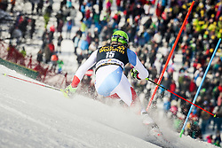 Ramon Zenhaeusern (SUI) during 2nd run of Men's Slalom race of FIS Alpine Ski World Cup 57th Vitranc Cup 2018, on March 4, 2018 in Podkoren, Kranjska Gora, Slovenia. Photo by Ziga Zupan / Sportida