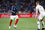 Ousmane Dembele of France and Wil Trapp of USA during the 2018 Friendly Game football match between France and USA on June 9, 2018 at Groupama stadium in Decines-Charpieu near Lyon, France - Photo Romain Biard / Isports / ProSportsImages / DPPI
