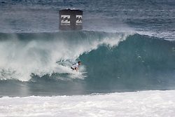 December 11, 2017 - Haleiwa, Hawaii, U.S. - Dusty Payne of Hawaii will surf in Round Two of the 2017 Billabong Pipe Masters after placing second in Heat 6 of Round One at Pipe, Oahu, Hawaii, USA...Billabong Pipe Masters 2017. (WSL via ZUMA Wire/ZUMAPRESS.com)