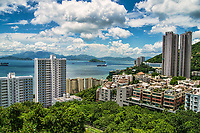 View from University of Hong Kong, Pok Fu Lam