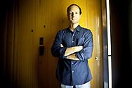 Octobre 2010. Portrait de Frédéric Lordon, économiste, chercheur au CNRS.