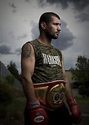 Boxer Nadar Hamdan for QWeekend Magazine