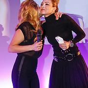 NLD/Amsterdam/20130205 - Beauty Astir Awards 2013, Do, Dominique van Huls en Renate Verbaan