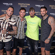 NLD/Amsterdam/20190624 - Temptation Island VIPS 2019, Thomas Cox Damian Diepenveen, Quinten Steenwinkel  en Fabrizzio Tzinaridis