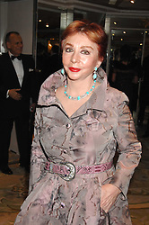 Wealthy Greek MRS PANAGIOTIS LEMOS at the Chain of Hope Ball held at The Dorchester, Park Lane, London on 4th February 2008.<br /><br />NON EXCLUSIVE - WORLD RIGHTS