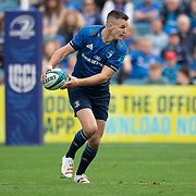 DUBLIN, IRELAND:  October 9:   Johnny Sexton #22 of Leinster in action during the Leinster V Zebre, United Rugby Championship match at RDS Arena on October 9th, 2021 in Dublin, Ireland. (Photo by Tim Clayton/Corbis via Getty Images)