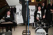 Philip Colbert and richard Ascott, Surrealism at Selfridges. London. 22 March 2007.  -DO NOT ARCHIVE-© Copyright Photograph by Dafydd Jones. 248 Clapham Rd. London SW9 0PZ. Tel 0207 820 0771. www.dafjones.com.