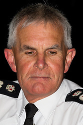 © Licensed to London News Pictures . FILE PICTURE DATED 20/07/2011 of SIR PETER FAHY in Manchester . The Greater Manchester Police Chief Constable has today (9th July 2015) announced he will stand down in October 2015 . Photo credit : Joel Goodman/LNP