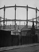 Gasometers, London, England 1929