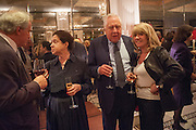 MAGGIE PEARLSTINE; ROY HATTERSLEE; INGRID SEWARD, Juliet Nicolson - book launch party for  her latest novel Abdication, about British society after the death of George V.  The Gallery at The Westbury, 37 Conduit Street, Mayfair, London, 12 June 2012