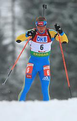 Oleg Berezhnoy (UKR) at Men 20 km Individual at E.ON Ruhrgas IBU World Cup Biathlon in Hochfilzen (replacement Pokljuka), on December 18, 2008, in Hochfilzen, Austria. (Photo by Vid Ponikvar / Sportida)