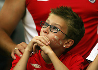 Photo: Chris Ratcliffe.<br /> England v Portugal. Quarter Finals, FIFA World Cup 2006. 01/07/2006.<br /> Gutted England fans.