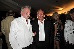 Left to right, DAVID BAILEY and SIR PHILIP GREEN at the annual GQ Awards held at the Royal Opera House, Covent Garden, London on 8th September 2009.