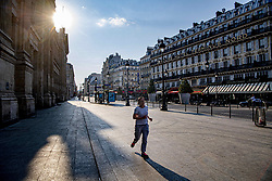 A view of the deserted Gare du Nord railway station in Paris, France on April 12, 2020. France's overall death toll from the coronavirus has risen to nearly 14,400 - but for the fourth day in a row, slightly fewer people were admitted into intensive care.The French president is expected to announce the lengthening of a country-wide lockdown which began on March 17 and were renewed two weeks later. Photo by Robin Utrecht/ABACAPRESS.COM