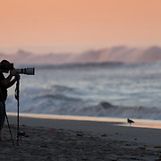 Huntington Beach, CA - Early morning surfing.<br /> <br /> Photo by Ben Mackey/Sports Shooter Academy XIII Behind the Scenes with the cast and crew of Sports Shooter Academy.