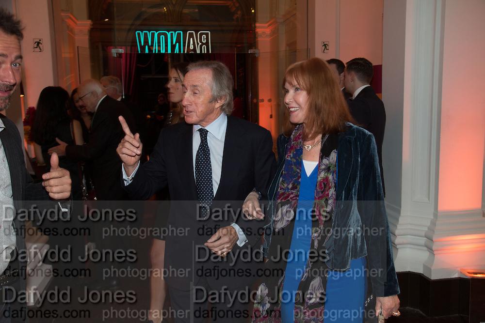 JACKIE STEWART; HELEN STEWART, Gala Opening of RA Now. Royal Academy of Arts,  8 October 2012.