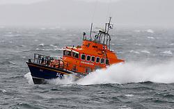 "Oban's RNLB Mora Edith MacDonald was on a ""shout"" as Storm Ali battered the west coast of Scotland........ (c) Stephen Lawson | Edinburgh Elite media"