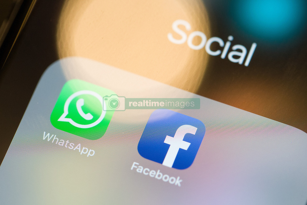 December 21, 2016 - Warsaw, Poland - The European Commission is investigating potentially false claims that Facebook cannot merge user information from the messaging network WhatsApp which it acquired in 2014. Warsaw, Poland, on December 21, 2016. (Credit Image: © Jaap Arriens/NurPhoto via ZUMA Press)