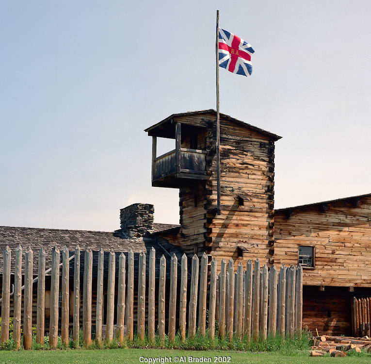 Fort at No. 4, Charlestown, NH, was the northernmost English outpost during the French and Indian War.
