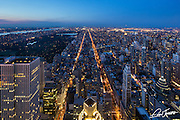 View from the 54th floor of 432 Park Avenue in New York City while it was under construction.
