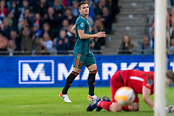 15-05-2019 NED: De Graafschap - Ajax, Doetinchem<br /> Round 34 / It wasn't really exciting anymore, but after the match against De Graafschap (1-4) it is official: Ajax is champion of the Netherlands / Dusan Tadic #10 of Ajax scores 4-1