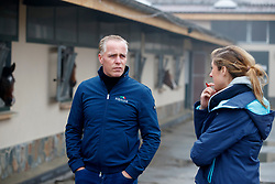 Rene Tebbel im Interview<br /> Emsbüren - Gestütsportrait Hengststation Tebbel 2017   <br /> © www.sportfotos-lafrentz.de/Stefan Lafrentz