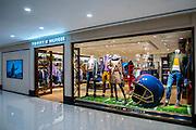 Tommy Hilfiger new window display at the Gateway Arcade, Harbour City in Hong Kong, November 02nd, 2015. Photo by:  Moses NG/ illumine Visuals