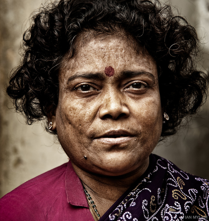 Street portrait - Chennai, India