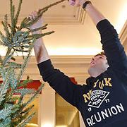 NLD/Amsterdam/20101208 - Skyradio Christmas Tree for Charity 2010, Nick & Simon, Nick Schilder