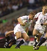 Richmond/Twickenham, England, Autumn International, and All Blacks Trianing at Old Deer Park. <br /> 09/11/2002<br /> International Rugby England vs New Zealand<br /> Ben Cohen.       [Mandatory Credit:Peter SPURRIER/Intersport Images]