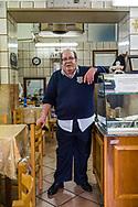 Signor Corona . osteria proprietor . Sicily, Italy