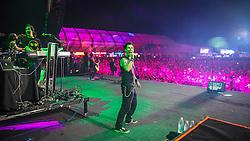 Capital Inicial se apresenta no Palco Planeta durante a 22ª edição do Planeta Atlântida. O maior festival de música do Sul do Brasil ocorre nos dias 3 e 4 de fevereiro, na SABA, na praia de Atlântida, no Litoral Norte gaúcho.  Foto: Jefferson Bernardes / Agência Preview