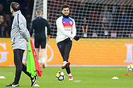 England midfielder Dele Alli in warm up during the Friendly match between Netherlands and England at the Amsterdam Arena, Amsterdam, Netherlands on 23 March 2018. Picture by Phil Duncan.
