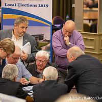 Checking spoilt votes in Kilrush LEA