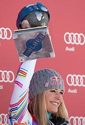 22.10.2011, Rettenbachferner, Soelden, AUT, FIS World Cup Ski Alpin, Damen, Riesenslalom, im Bild Podium Platz 1 Lindsey Vonn (USA) // during Ladies ginat Slalom at FIS Worldcup Ski Alpin at the Rettenbachferner in Solden on 22/10/2011. EXPA Pictures © 2011, PhotoCredit: EXPA/ Johann Groder