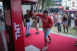Público no UFC Porto Alegre, na arena Gigantinho. FOTO: Jefferson Bernardes/ Agência Preview