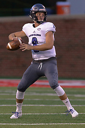 NORMAL, IL - September 08: Harry Woodbery during 107th Mid-America Classic college football game between the ISU (Illinois State University) Redbirds and the Eastern Illinois Panthers on September 08 2018 at Hancock Stadium in Normal, IL. (Photo by Alan Look)