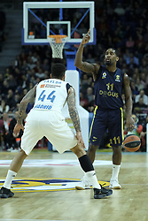 March 2, 2018 - Madrid, Madrid, Spain - WANAMAKER  BRAD of Fenerbahce Dogus in action  during the Turkish Airlines Euroleague basketball match between Real Madrid and Fenerbahce Dogus at the Wizink Center in Madrid, Spain on March 2, 2018. Photo: Oscar Gonzalez/NurPhoto  (Credit Image: © Oscar Gonzalez/NurPhoto via ZUMA Press)