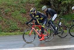 March 30, 2018 - Vitre, France - Jerome Cousin (Direct Energie), Anthony Delaplace  (Credit Image: © Panoramic via ZUMA Press)