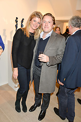 ED & AURORE OGDEN at a private view entitled Stop Making Sense featuring work by Georgiana Anstruther and Carol Corell held at Lacey Contemporary, 8 Clarendon Cross, London on 9th March 2016.