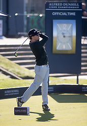 Sam McTrusty. Alfred Dunhill Links Championship this morning at St Andrews.