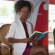 NLD/Amsterdam/20140525 - Classic FM Station onganiseert Luisterboeken Lounge Live , Silvana Simons leest voor