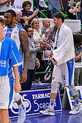 Achille Polonara<br /> Banco di Sardegna Dinamo Sassari - Grissin Bon Reggio Emilia<br /> LegaBasket LBA Poste Mobile 2017/2018<br /> Sassari, 15/10/2017<br /> Foto L.Canu / Ciamillo-Castoria