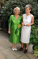 Left to right, LADY BRENNAN OF BIBURY  and LADY IRVINE OF LAIRG at the annual Macmillan Cancer Support House of Lords vs the House of Commons Tug of War held in Victoria Tower Gardens on 20th June 2006.<br /><br />NON EXCLUSIVE - WORLD RIGHTS
