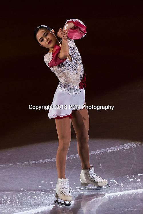 Satoko Miyahara (JPN) performing at the Figure Skating Gala Exhibition at the Olympic Winter Games PyeongChang 2018