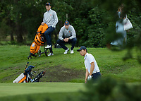 HILVERSUM - Jerry Ji (Neth) Netherlands vs Austria  for place 5.) (2-1)  Jerry Ji wins after 19 holes.  ELTK Golf 2020 The Dutch Golf Federation (NGF), The European Golf Federation (EGA) and the Hilversumsche Golf Club will organize Team European Championships for men.  COPYRIGHT KOEN SUYK