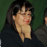 TOLUCA, México.- Martha Hilda González Calderón,  secretaria General del Comité Directivo Estatal del PRI, durante la toma de protesta de Pablo Basáñez como nuevo Presidente del Consejo Directivo de la Fundación Colosio en el Estado de México. Agencia MVT / Crisanta Espinosa. (DIGITAL)